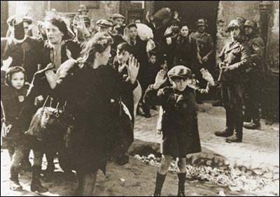 Den jødiske ghetto i warszawa, 19. april 1943